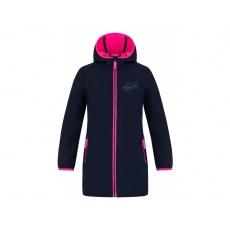 kabát dětský LOAP LOGI softshell modrý