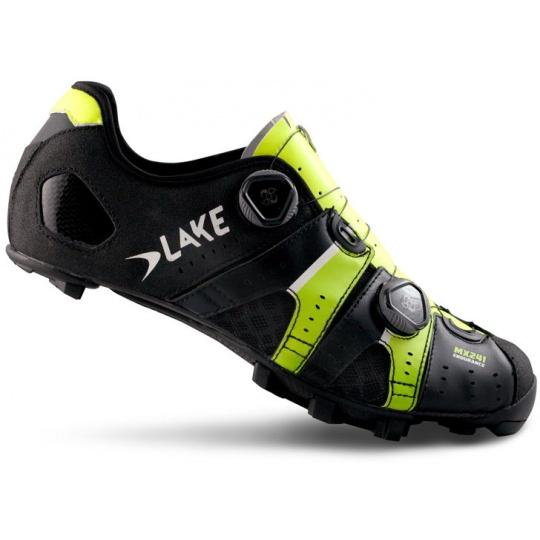 tretry LAKE MX241 černo/neon žluté vel.42,5