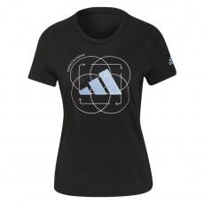 Adidas Run Logo 2 W GV1350 Running T-shirt