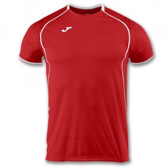 T-SHIRT OLIMPIA RED-WHITE S/S