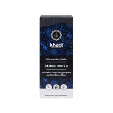 barva rostlinná na vlasy Khadi Čisté Indigo 100g