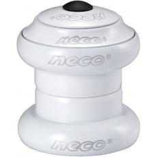 """hlavové zloženie NECO A-Head 1 1/8 """"biele"""