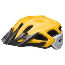 prilba KED Status Junior M yellow black matt 52-59 cm