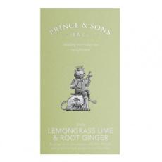 Lemongrass Lime and Root Ginger 15 sáčků (37,5g)