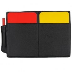 Referee cards with the notebook 2010896VRC-220