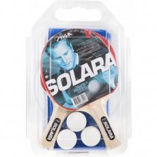 Ping pong set for Stiga Solara 2rak + 3 balls + net