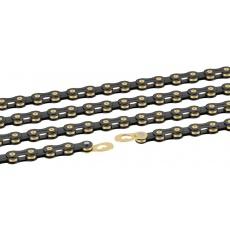 reťaz Connex 9sB 9 st. 114 článkov čierny / zlatý
