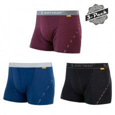 boxerky SENSOR MERINO AIR 3pack