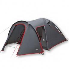Tent High Peak Kira 4 dark gray-red