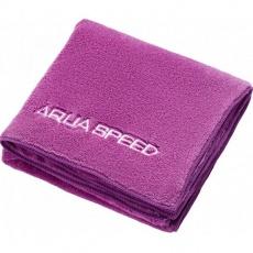 Aqua-speed Dry Coral towel 350g 50x100 purple 09/157