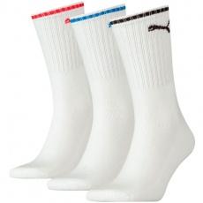 Puma Sport Crew Stripe 3Pack Socks 907941 02