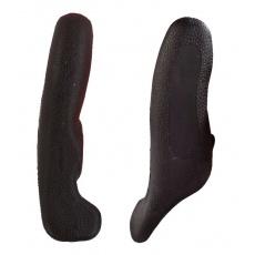 rohy 4RACE AL + guma 12cm čierne