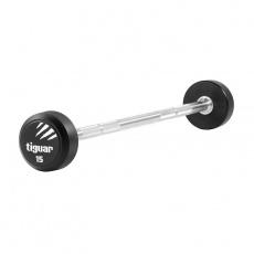 Barbell straight tiguar PU 15 kg TI-WPBPU015