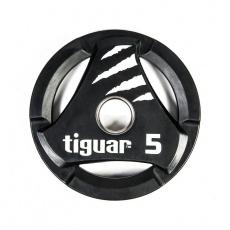 Olympic plate tiguar PU 5 kg TI-WTPU00500