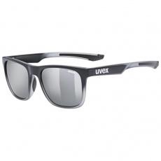 okuliare UVEX LGL 42 čierne transparentné
