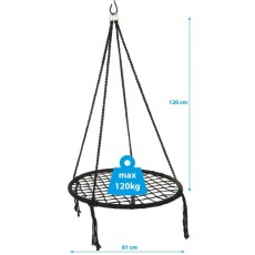 Openwork hammock 80cm