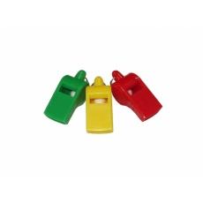 píšťalka plastová
