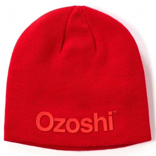 Ozoshi Hiroto Classic Beanie red OWH20CB001