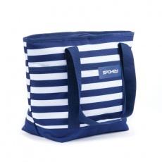 ACAPULCO Termo taška, pruhy - námořnická modrá