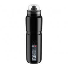 fľaša ELITE FLY MTB 20 čierna / sivé logo 950 ml