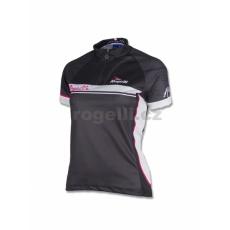 dres krátky dámsky Rogelli SIMONA čierno / šedý