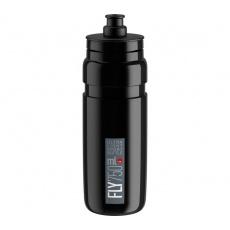 fľaša ELITE FLY 20 čierna / sivé logo 750 ml
