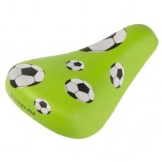 sedlo detské Ventura Futbal zelené
