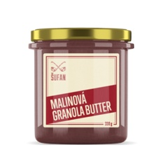 Granolového Butter malinová 330g