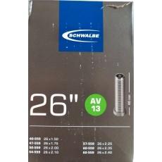 """duša SCHWALBE AV13 26 """"x1.50-2.40 (40 / 62-559) AV40mm"""