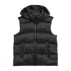 4F W Vest H4Z21-KUDP001A Black