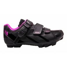 boty FLR F-65 černo/růžové