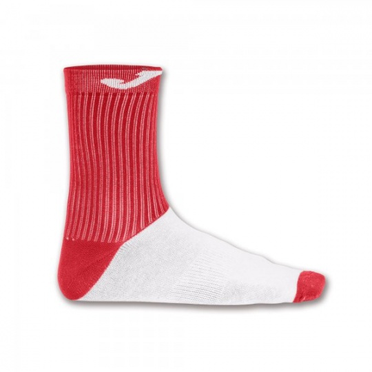 SOCK WITH COTTON FOOT RED