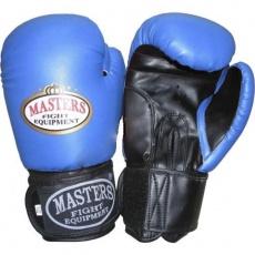 Boxing gloves MASTERS blue-black