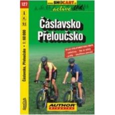 mapa cyklo Čáslavsko,Přeloučsko,127