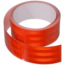 páska 3M samolepící stříhací nedělená červená