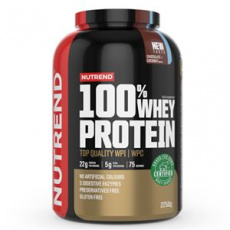 100% Whey Protein 2,25 kg NEW čokoláda kokos + Šejker ZADARMO