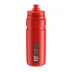 fľaša ELITE FLY 20 červená / červené logo 750 ml