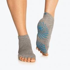 Gray anti-slip socks 59203