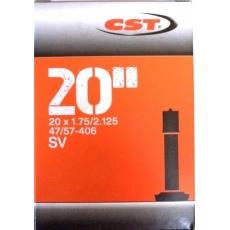 """duše CST 20""""x1.75-2.125 (47/57-406) AV/40mm"""