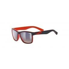 okuliare UVEX LGL 39 čierno / červené
