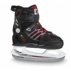 FILA SKATES X-ONE ICE BLACK RED Čierna 20/21