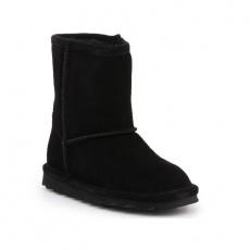 BearPaw Elle Toddler Zipper Black Jr 1962TZ-011 shoes