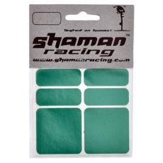 samolepka SHAMAN reflexní zelená