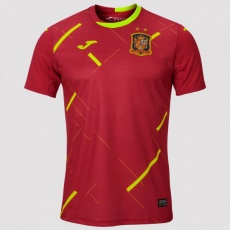 1ST T-SHIRT SPANISH FUTSAL RED S/S