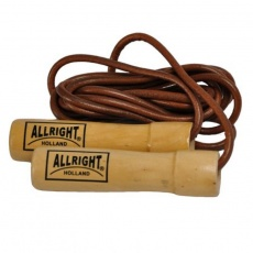 Allright leather jump rope with 2.4 m bearing