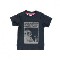 Adidas Star Wars Kids T-Shirt Darth Vader Tee Junior S14386