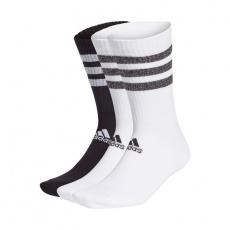 Adidas Glam 3S Cushioned Crew 3Pak GP3543 Socks