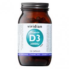 Vitamín D3 2000iu 150 kapslí