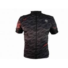 dres krátký pánský HAVEN SKINFIT černá/červená