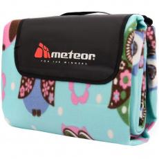 Meteor picnic blanket 200x200cm XXL owls 77125